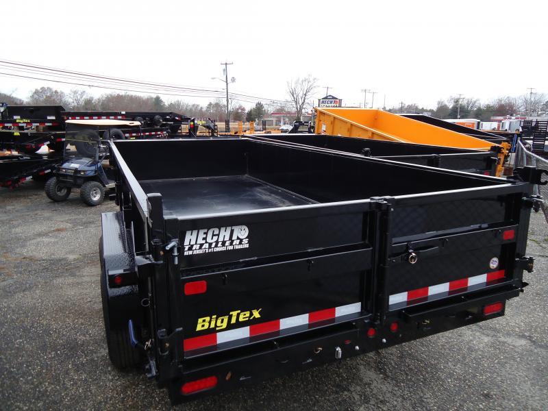2019 Big Tex Trailers DT 7X16 14LX 16BK 7SIRPD 7K HY JCK TARP BLACK Dump Trailer