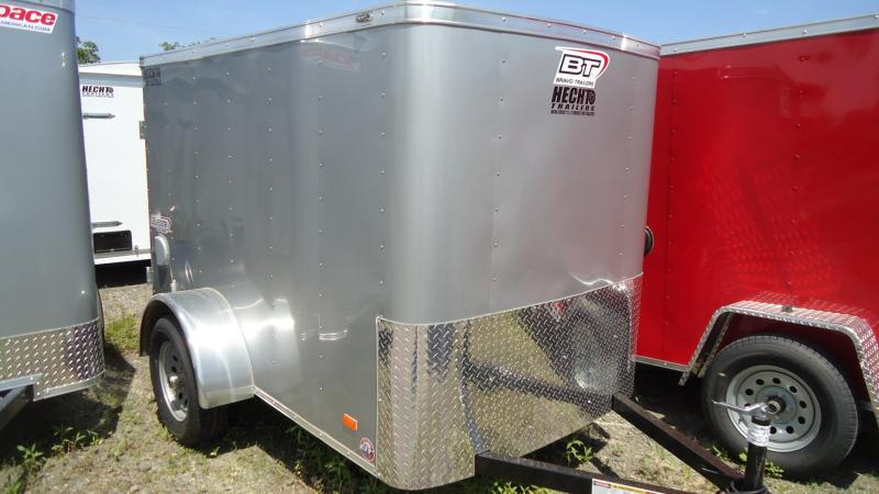 2020 Bravo Trailers 5X8 SC SA APP SILVER Enclosed Cargo Trailer