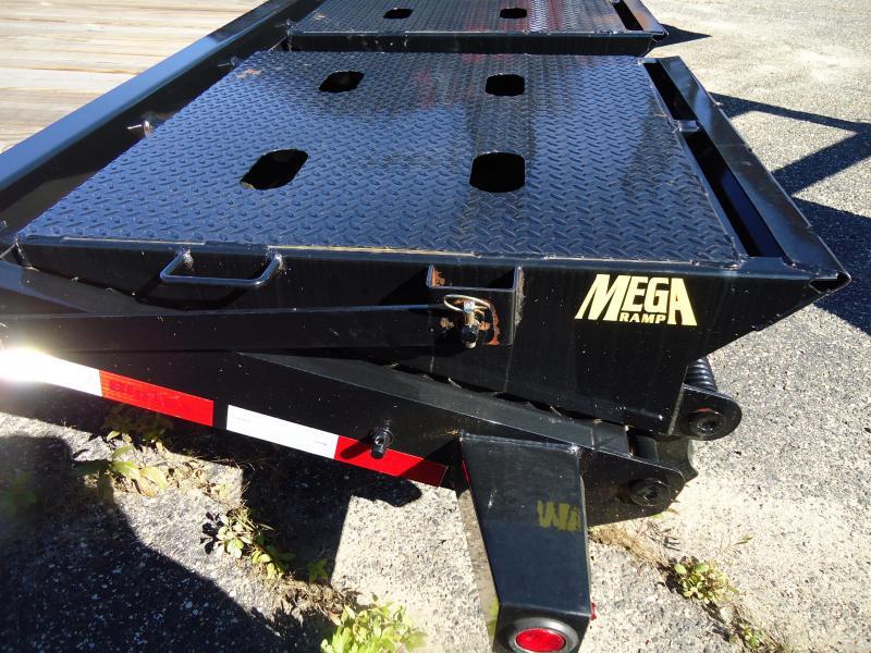 2018 Big Tex Trailers EH 7X18 14ET 18BK MR DT MEGA BLACK Equipment Trailer