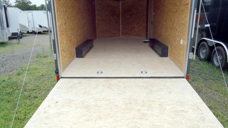 "2020 Pace American 8.5X18 OBDLX TE2 30VS 18""TNG RAMP+ SVNT CHARCOAL Enclosed Cargo Trailer"