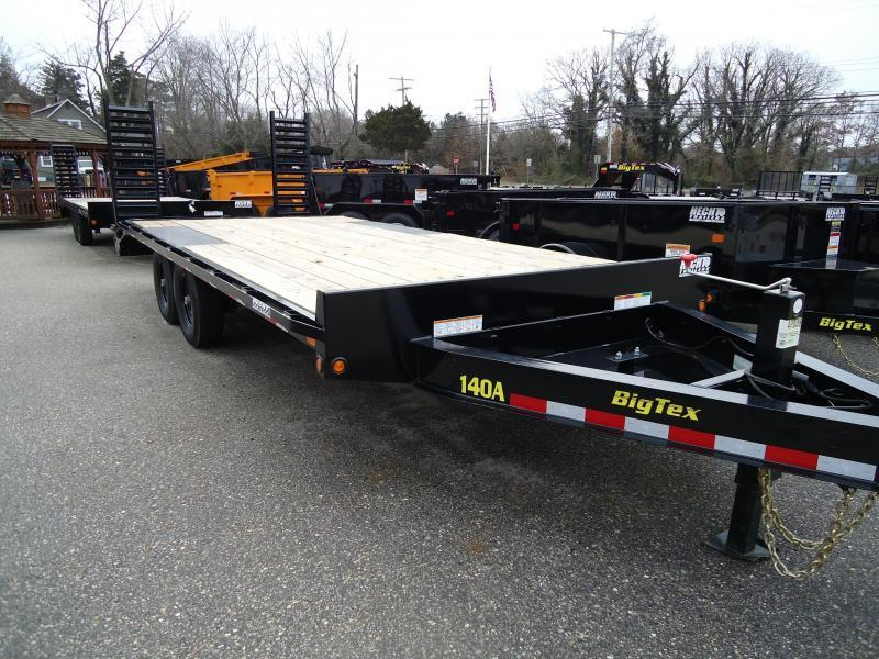 2019 Big Tex Trailers EH 8.5X22 14OA 19+3BK DT BLACK Equipment Trailer