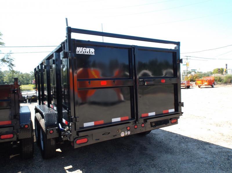 2018 Big Tex Trailers DT 7X14 14LX-14BK-P4 TARP BLACK Dump Trailer