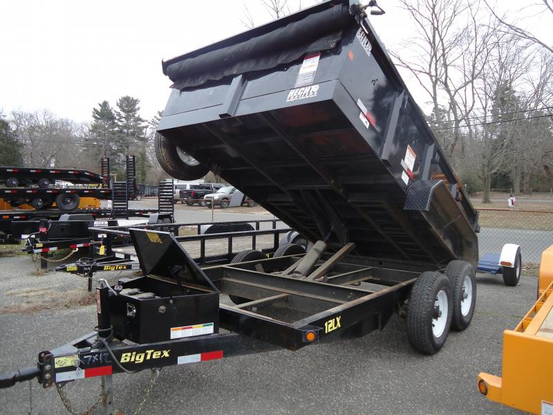 2017 USED Big Tex Trailers 7X12 12LX-12 Dump Trailer