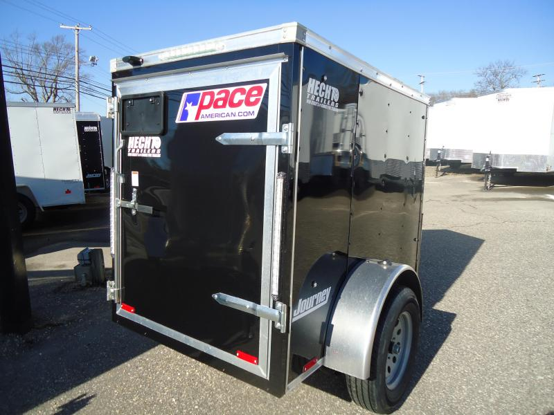 2019 Pace American 4X6 JV SI2 BLACK Enclosed Cargo Trailer