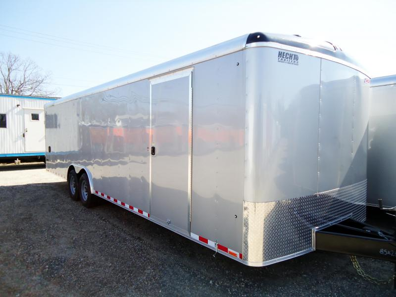 2019 Pace American 8.5X28 JT TE4 RAMP SVNTS ESCP DR SILVER Car / Racing Trailer