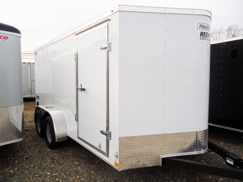 2019 Haulmark 7X14 PPT DT2 RAMP WHITE Enclosed Cargo Trailer