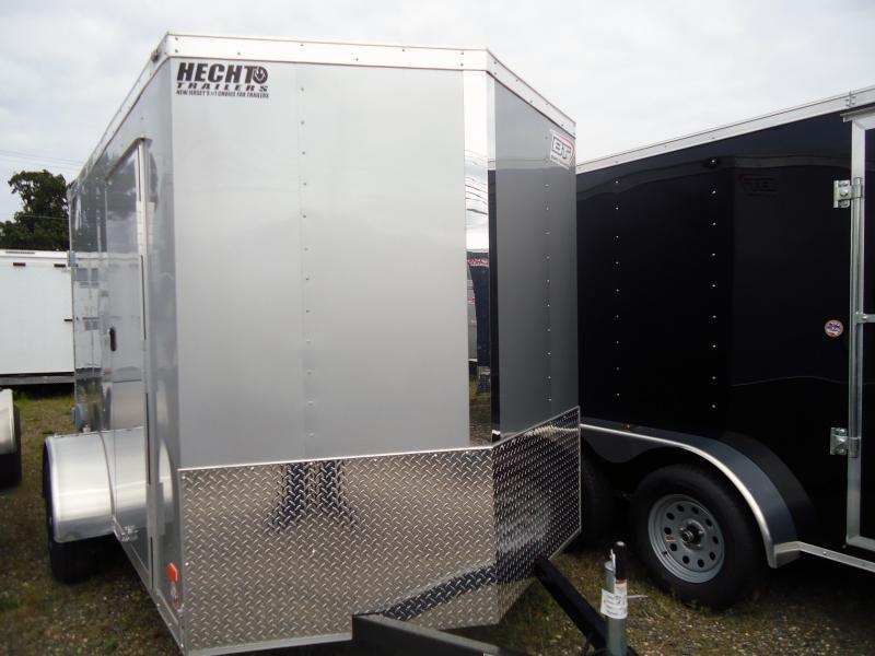 "2019 Bravo Trailers 6X10 ST SA 18""V APP SILVER Enclosed Cargo Trailer"