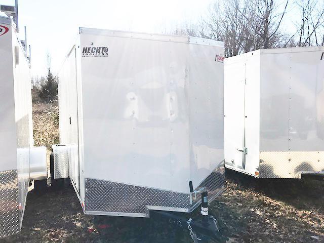 """2019 Pace American 6X12 OBDLX SI2 24""""VS SVNTS WHITE Enclosed Cargo Trailer"""