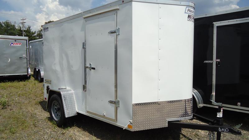 2019 Haulmark 6X10 PPT S2 WHITE Enclosed Cargo Trailer