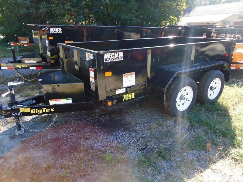2019 Big Tex Trailers DT 5X10 70SR 10 5WDD BLACK Dump Trailer