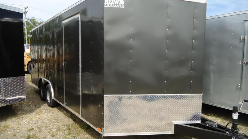 2020 Pace American 8.5X20 OBDLX TE2 30VS 18T RAMP SVNT CHARCOAL Enclosed Cargo Trailer