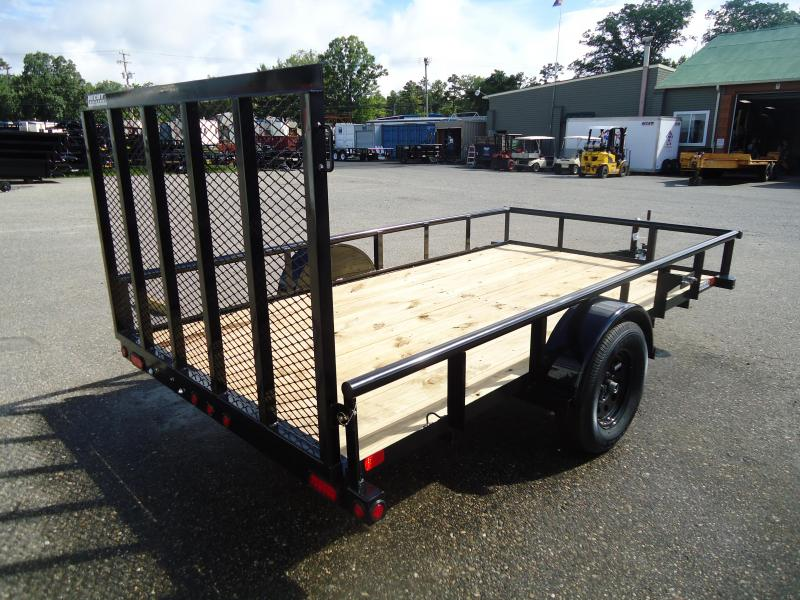 2018 Big Tex Trailers UT 6.5X12 35SA 12BK 4RG BLACK Utility Trailer