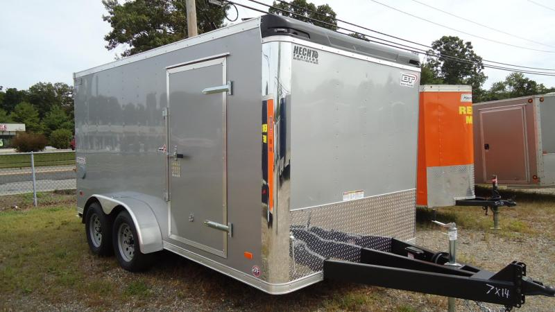 2020 Bravo Trailers 7X14 ST TA2 LND SCP HD RAMP SILVER Enclosed Cargo Trailer
