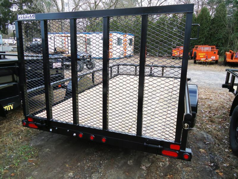 2019 Big Tex Trailers UT 6.5X12 35SA 12BK 4RG BLACK Utility Trailer
