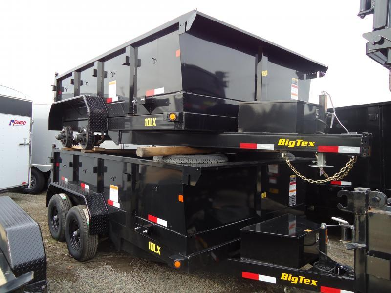 2019 Big Tex Trailers DT 7X12 10LX 12BK 7SIR BLACK Dump Trailer