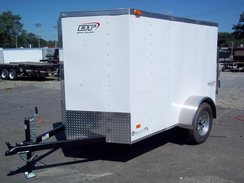 2016 Bravo Trailers 5x10sc Sa V Ld Ramp App Enclosed Cargo