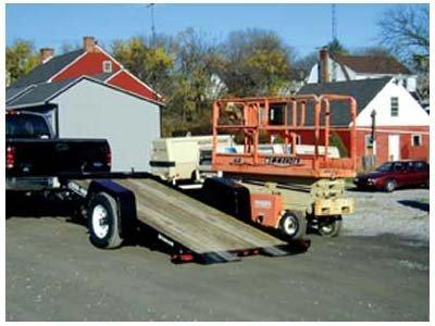 2008 Bri-Mar USED T412-6 TILT TRAILER Equipment Trailer