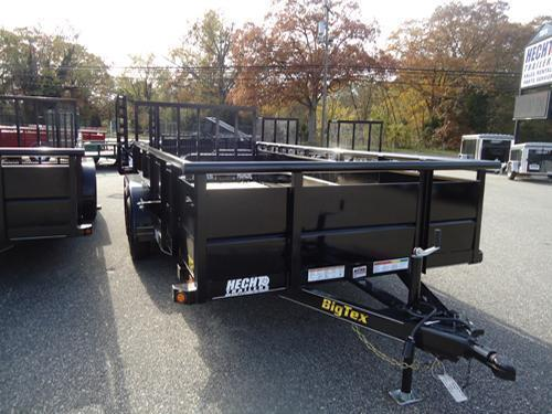 2018 Big Tex Trailers UT 7X16 70TV 16BK 4RG BLACK Utility Trailer