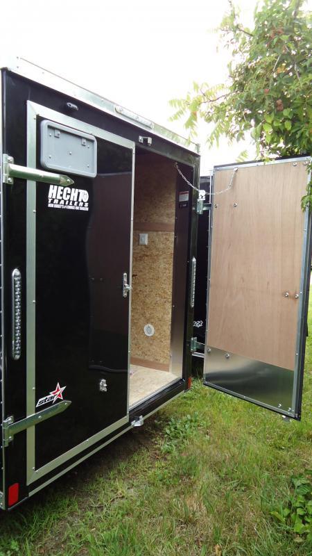 2020 Bravo Trailers 6X10 ST SA APP BLACK Enclosed Cargo Trailer