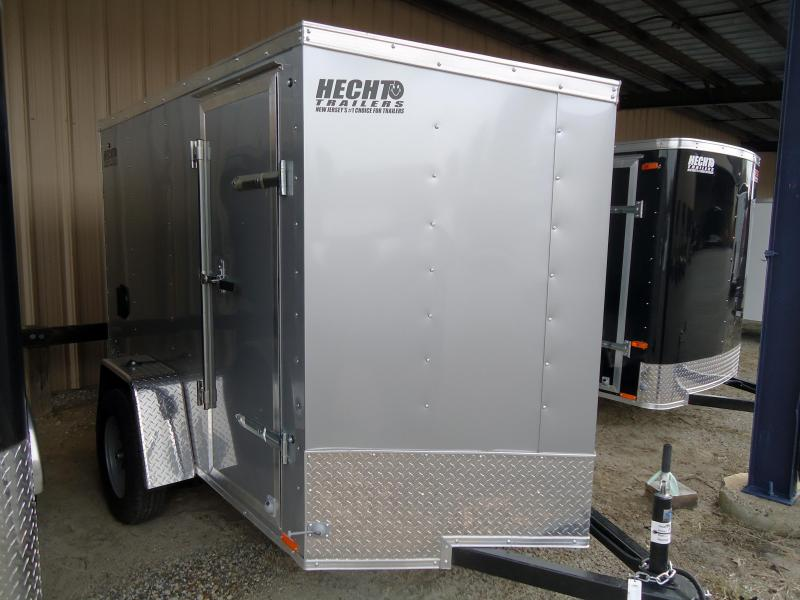 2020 Pace American 5X8 OBDLX SI2 24VS SD SVNTS SILVER Enclosed Cargo Trailer