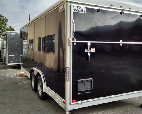 "2015 Wells Cargo 8.5X18EW LS PKG 12""XTUN Enclosed Cargo Trailer"