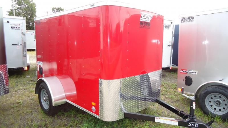2020 Bravo Trailers 5X8 SC SA APP RED Enclosed Cargo Trailer