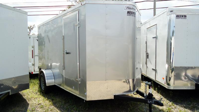 2019 Haulmark 6X12 PPT S2 SILVERFROST Enclosed Cargo Trailer