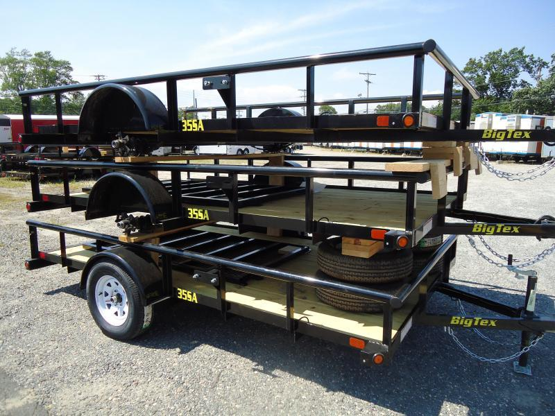 2017 Big Tex Trailers UT 7X14 35SA-14XBK4RG BLACK Utility Trailer