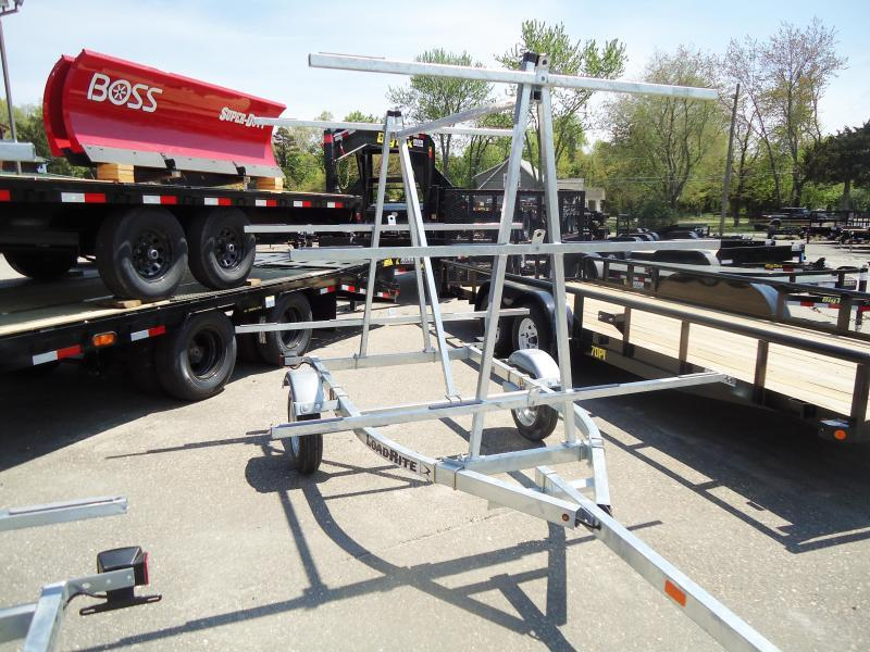 2019 Load Rite K1000 6T 6 KAYAK SWIVEL TONGUE JACK Watercraft Trailer