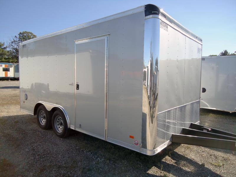 "2019 Bravo Trailers 8.5X16 ST TA2 60""TT TUNG AUTO SILVER Enclosed Cargo Trailer"