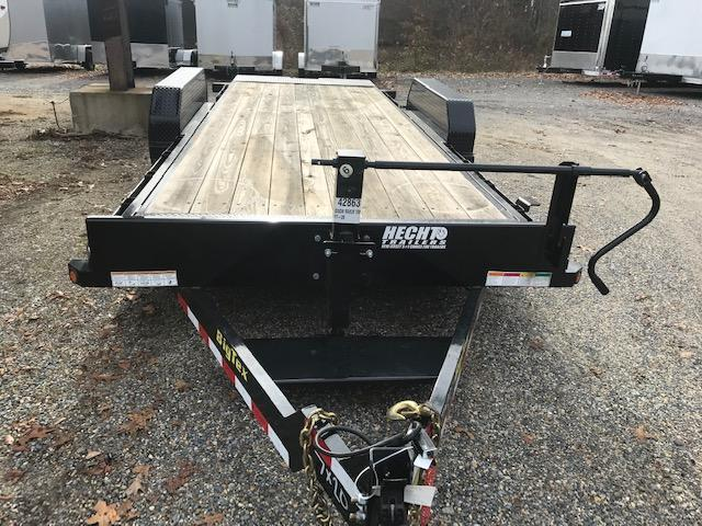 2019 Big Tex Trailers EH 7X20 14FT 20BK SPARE BLACK Equipment Trailer