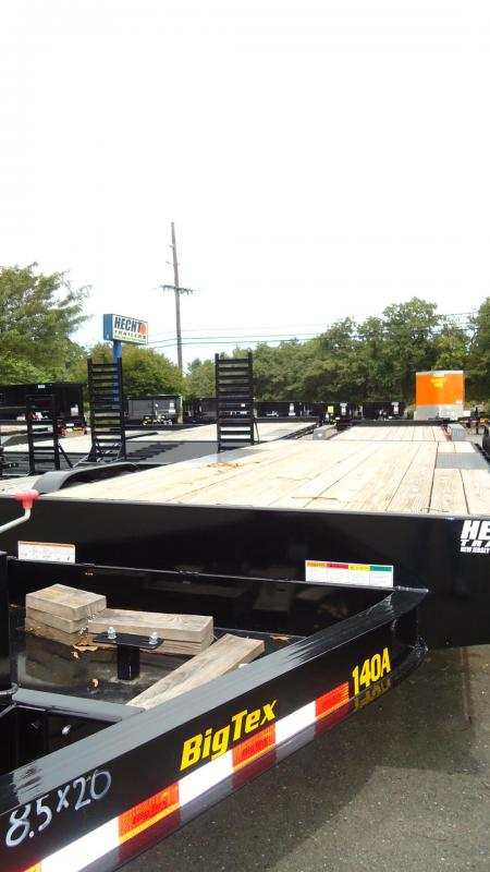 2020 Big Tex Trailers EH 8.5X20 14OA 20BK 8SIR BLACK Equipment Trailer
