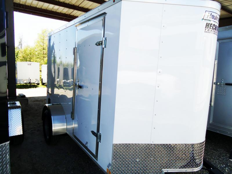 2019 Haulmark 6X10 PPT S2 EB RAMP WHITE Enclosed Cargo Trailer