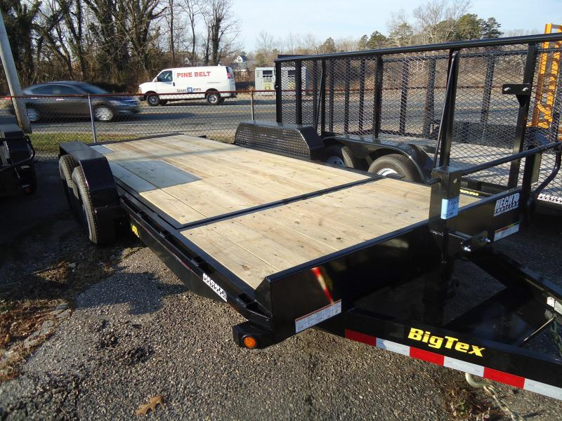 2019 Big Tex Trailers EH 7X20 14TL 20BK 16+4 BLACK Equipment Trailer