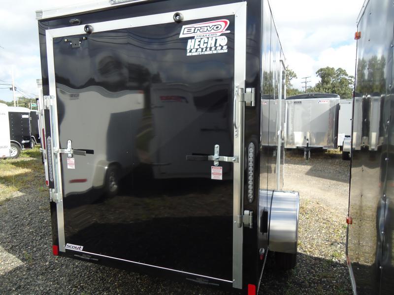 "2019 Bravo Trailers 6X10 SC SA 6""X LD RAMP APP BLACK Enclosed Cargo Trailer"