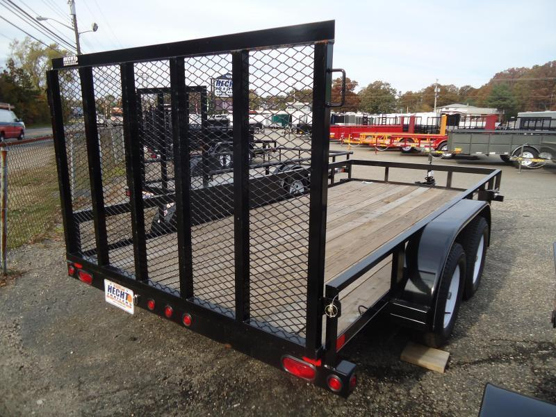 2018 Big Tex Trailers UT-6.5X12 50LA-12BK4RG BLACK