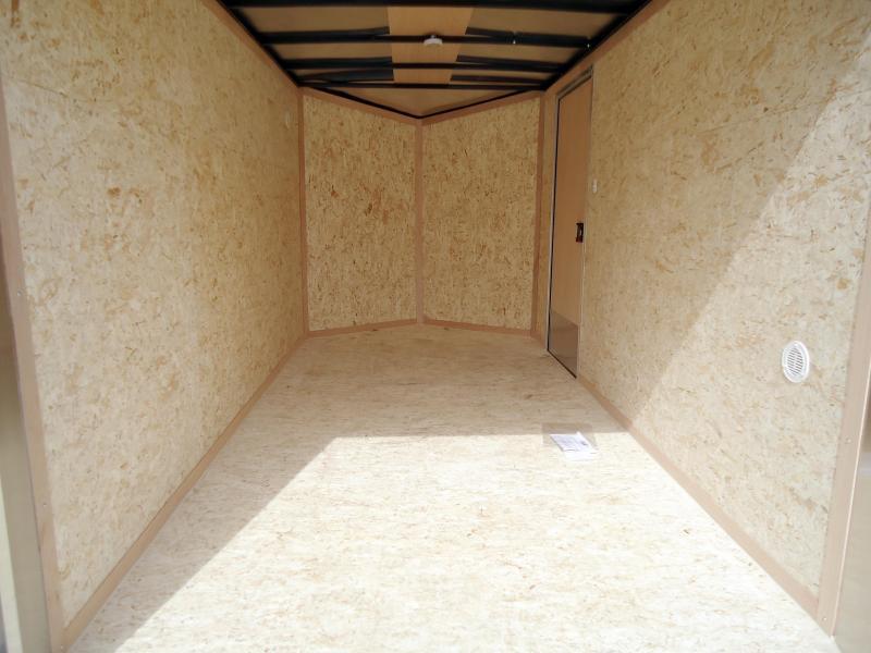2020 Pace American 6X12 OBDLX SI2 24VS RAMP SVNTS SILVER Enclosed Cargo Trailer