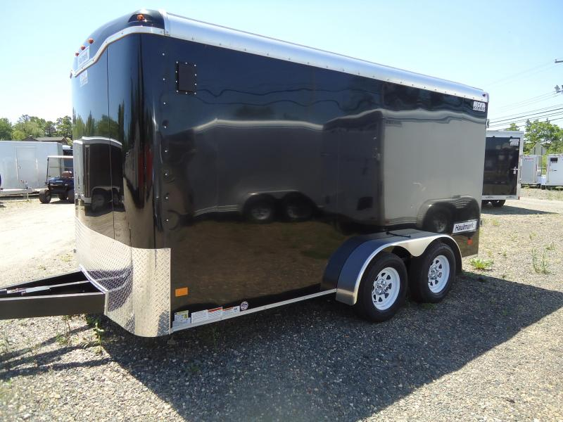 "2018 Haulmark 7X14 KD WT2 12""X TUNG BLACK Enclosed Cargo Trailer"