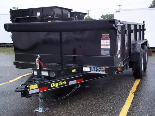 2016 Big Tex Trailers DT-7X16 14LX-16BK-P4 TARP Utility Trailer