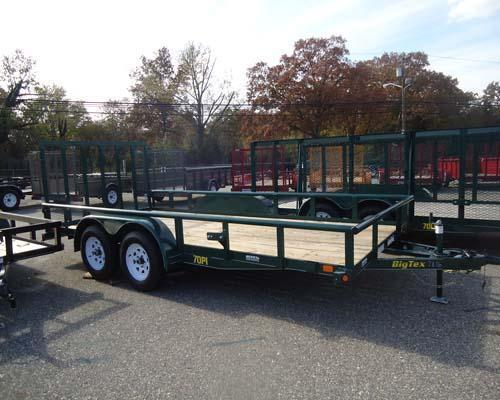 2015 Big Tex Trailers UT-7X14 70PI-14XGR 4RG Utility Trailer