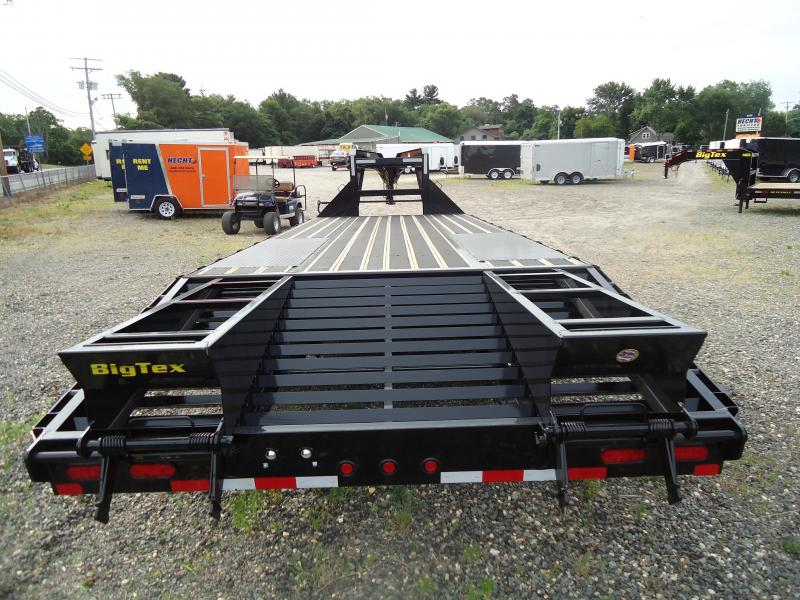 2019 Big Tex Trailers EH 8.5X25 22GN 20BK5 5FUR BLACK WOOD BLACK Equipment Trailer