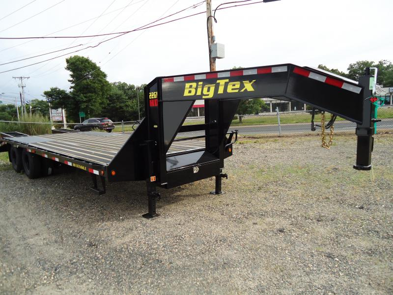 2019 Big Tex Trailers EH 8.5X25 22GN 20BK5 + 5FUR BLACK WOOD BLACK Equipment Trailer