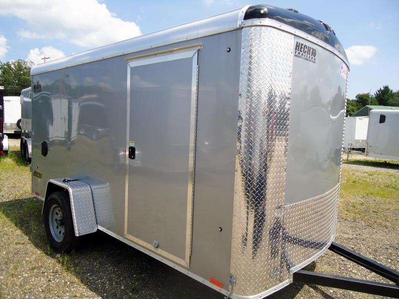 2019 Pace American 6X12 JTSE SI2 SVNTS SILVER Enclosed Cargo Trailer
