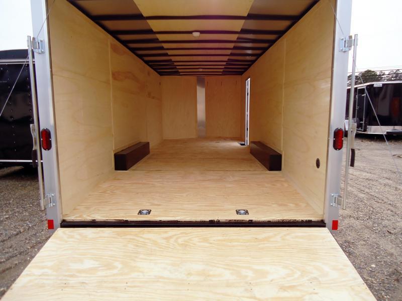 2018 Haulmark 8.5X22 PPT PASSPORT WT3 APP SILVER Enclosed Cargo Trailer