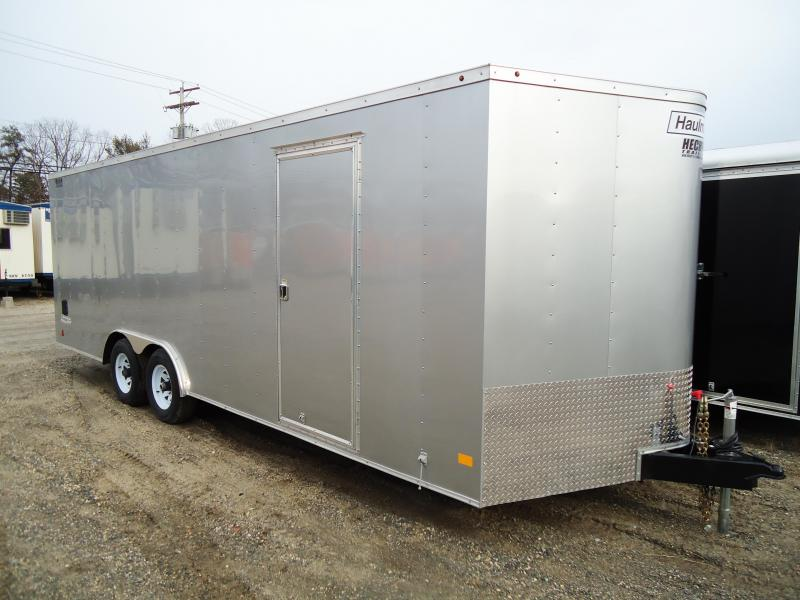 2018 Haulmark 8.5X22 PPT PASSPORT WT3 APP SILVER Enclosed Cargo Trailer