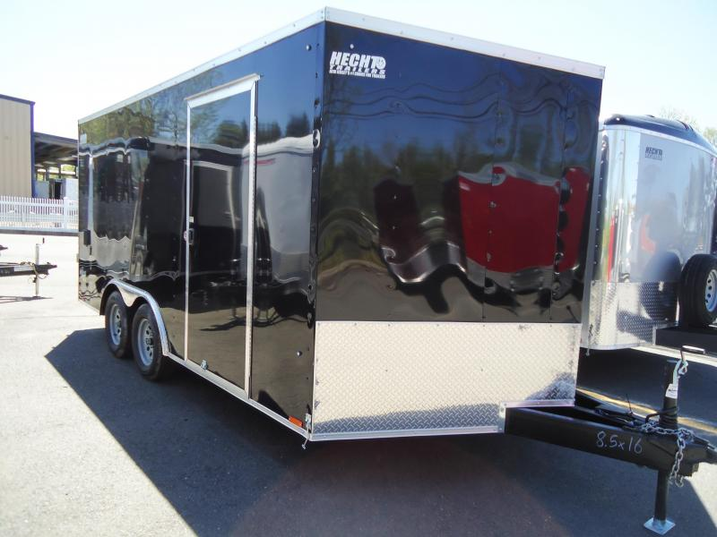 2020 Pace American 8.5X16 OBDLX TE2 30VS 18XT RAMP SVNTS BLACK Car / Racing Trailer