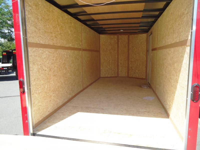 2016 Haulmark 7X16TSTV WT2 12TUNG RAMP Enclosed Cargo Trailer