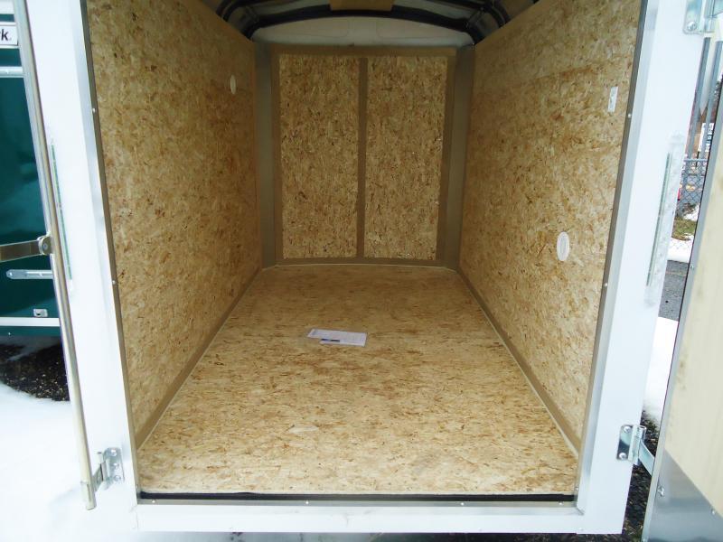 2018 Pace American 5X8 JT SE SI2 WHITE Enclosed Cargo Trailer