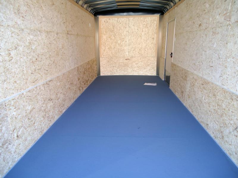 """2019 Pace American 7X16 CLS TE2 6""""X RAMP SILVER Enclosed Cargo Trailer"""
