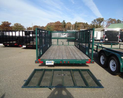 2015 Big Tex Trailers UT-7X16 70LR-16GR PT Utility Trailer